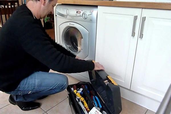 تعمیر شیر ورودی آب ماشین لباسشویی